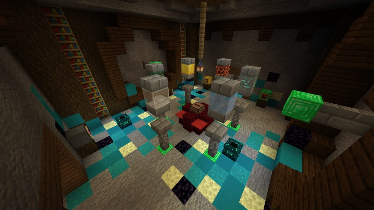Map Minecraft Illemana Defense Salle d'enchantement