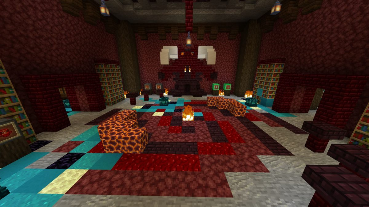 Map Minecraft Illemana Defense Salle de Rituel