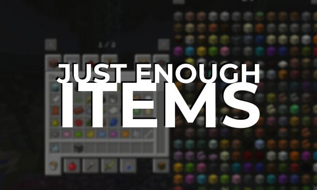 Just Enough Items JEI – Mod : 1.8.9 → 1.12.2 / 1.16.5