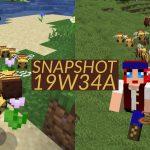 Minecraft 1.15 : Snapshot 19w34a – Les abeilles arrivent !
