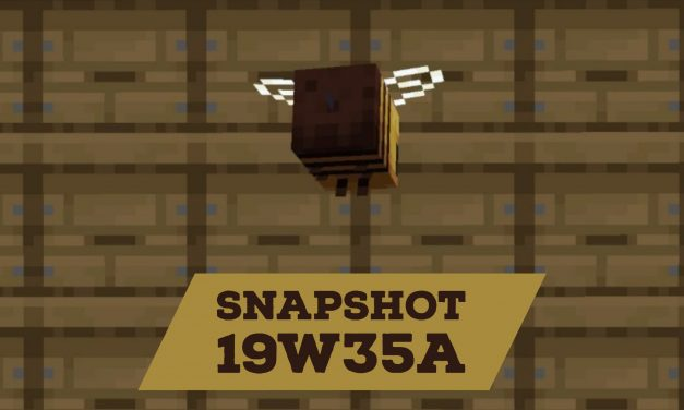 Minecraft 1.15 : Snapshot 19w35a – Correction de bugs