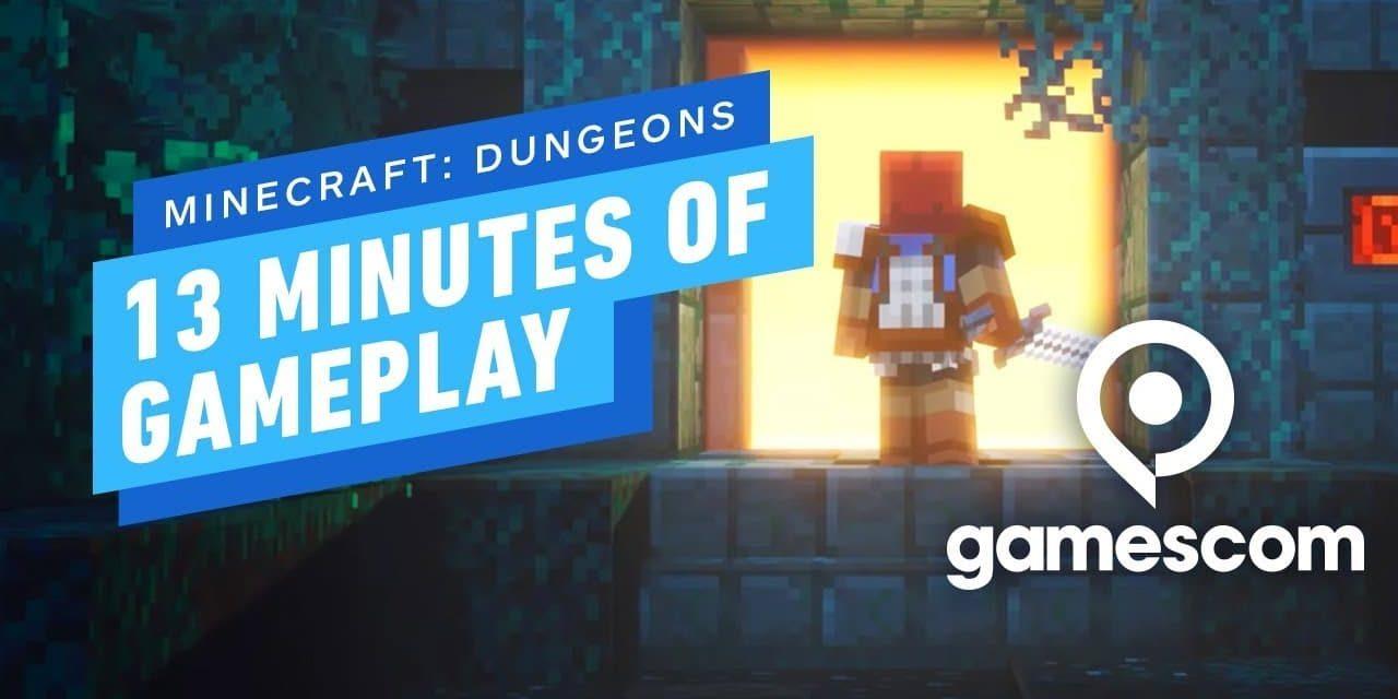 Minecraft Dungeons : 13 minutes de gameplay