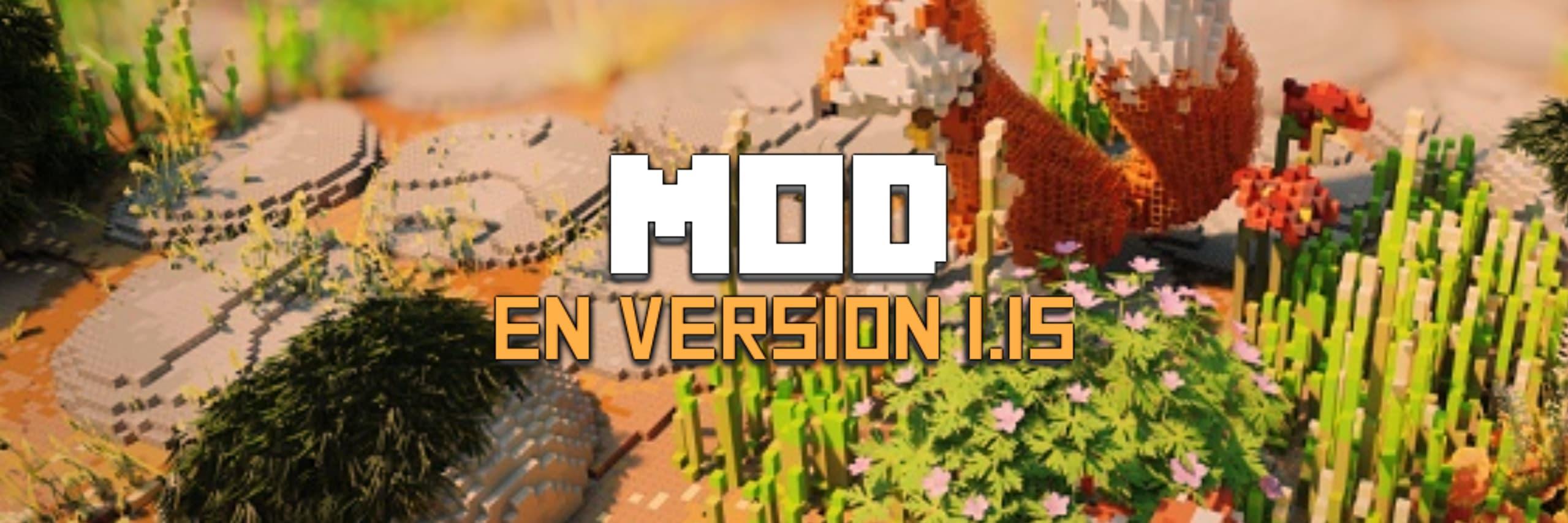 mod minecraft 1.15