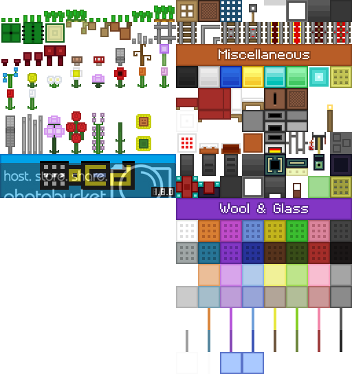 oCd pack de textures minecraft vanilla tous les blocs