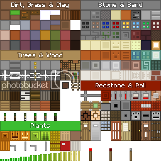 oCd pack de textures minecraft vanilla types de blocs