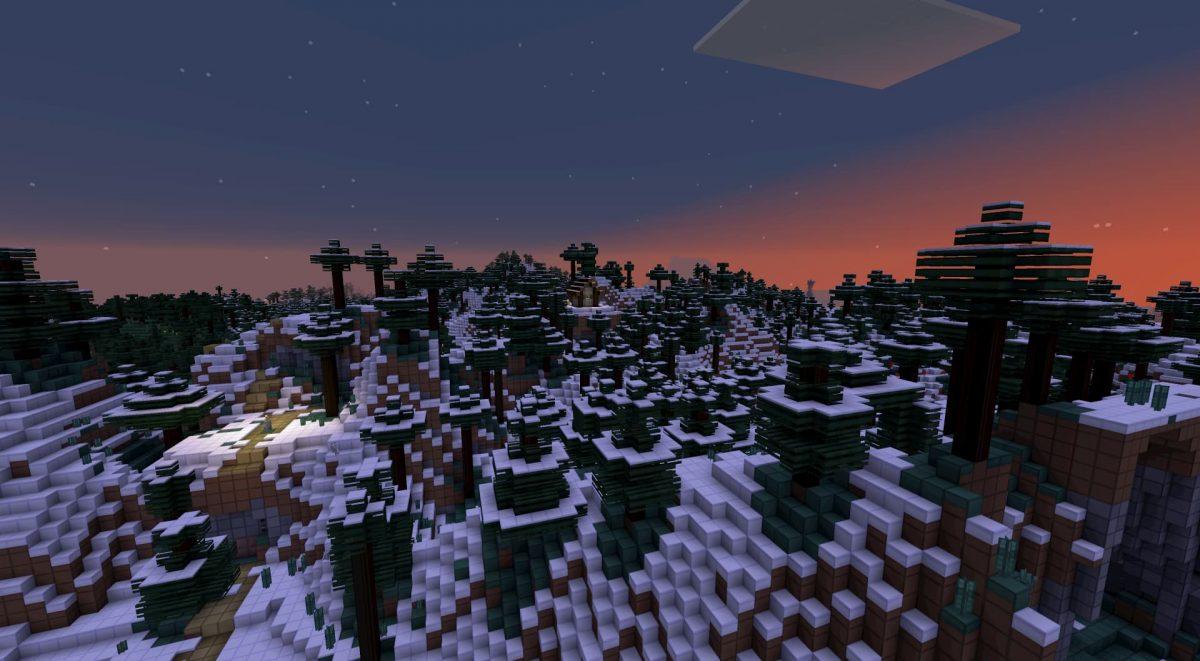 oCd pack de textures minecraft vanilla neige