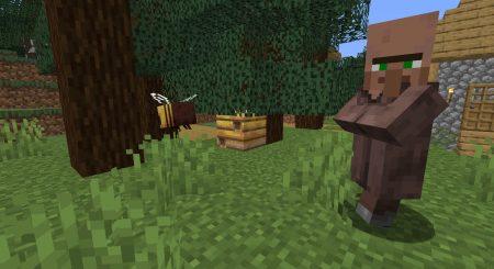où trouver nid abeille minecraft