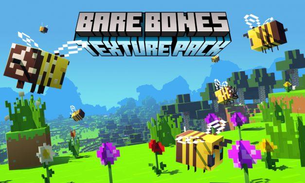 [Pack de Textures] Bare Bones – 1.7 → 1.16