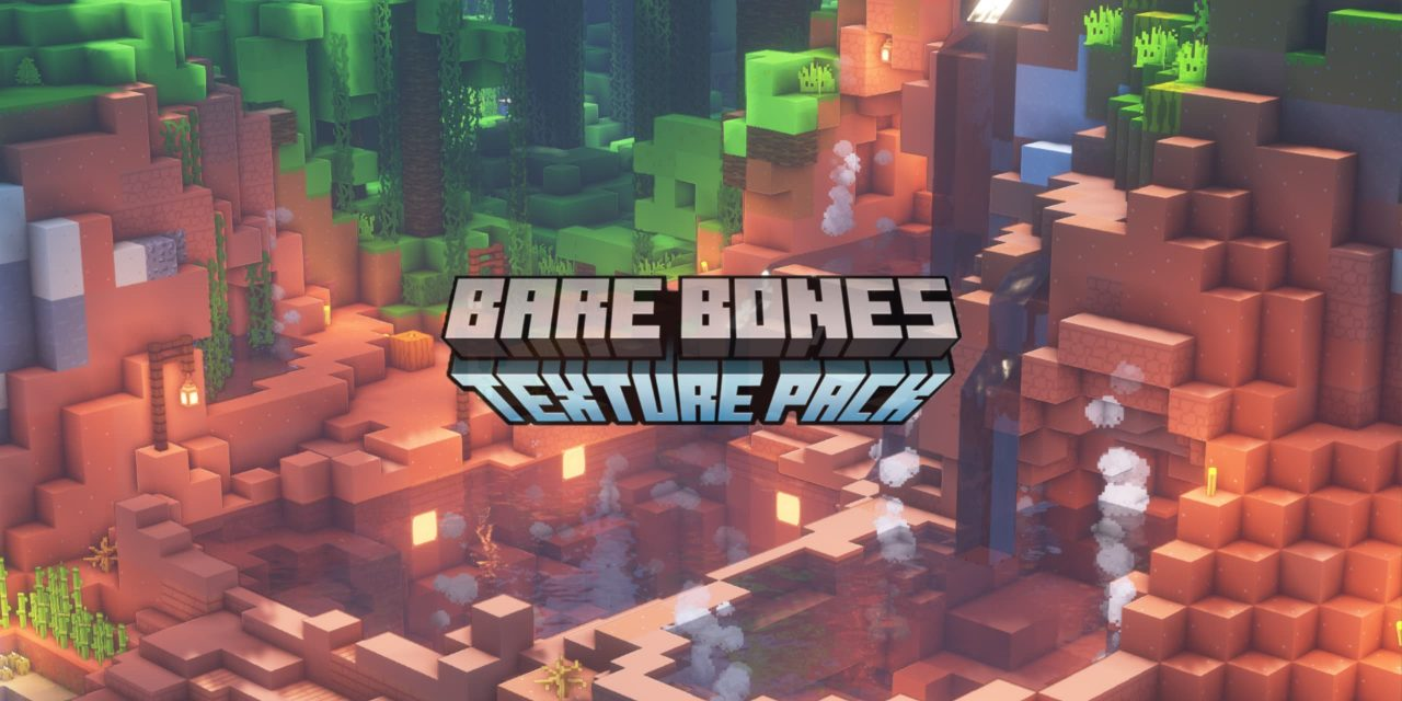 [Pack de Textures] Bare Bones – 1.7 → 1.14