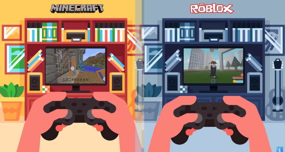 Roblox passe devant Minecraft avec ses 100 millions de joueurs mensuels