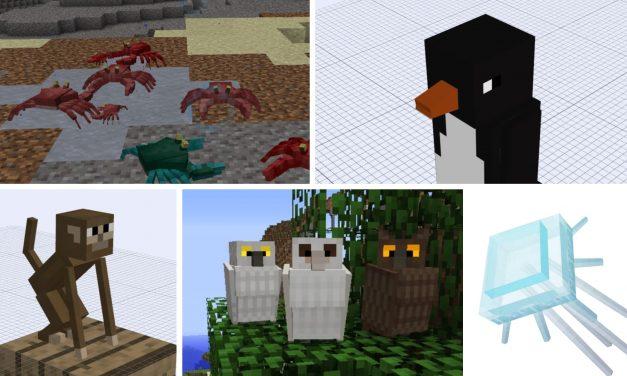 Quels seront les nouveaux animaux de la mise à jour Minecraft 1.15 ?