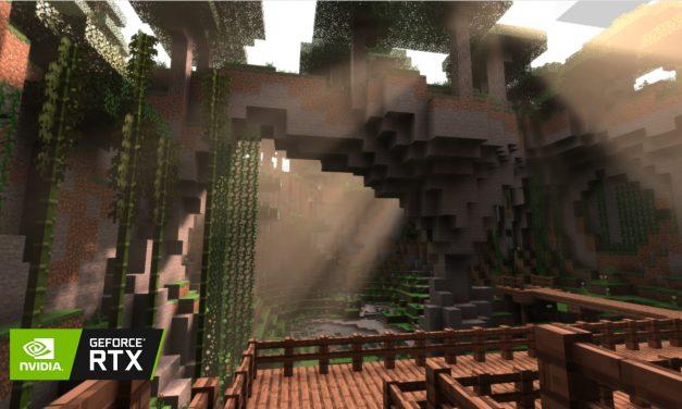 Du ray tracing pour Minecraft sur les cartes Nvidia RTX