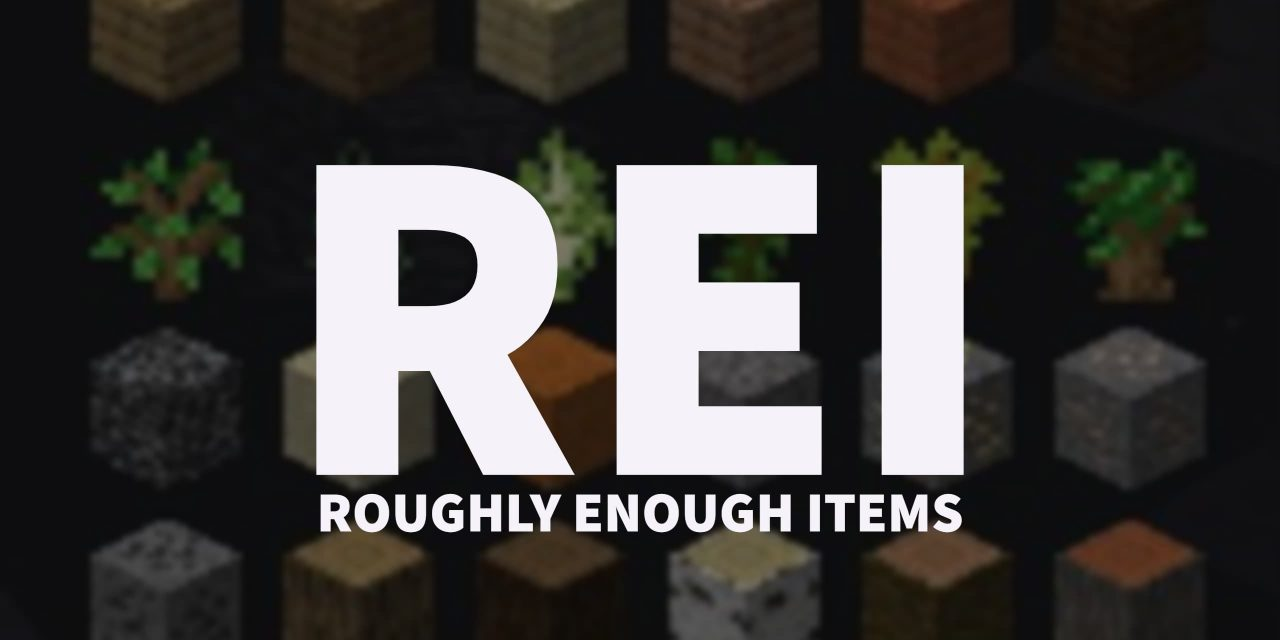 [Mod] Roughly Enough Items – 1.13.2 → 1.16.4
