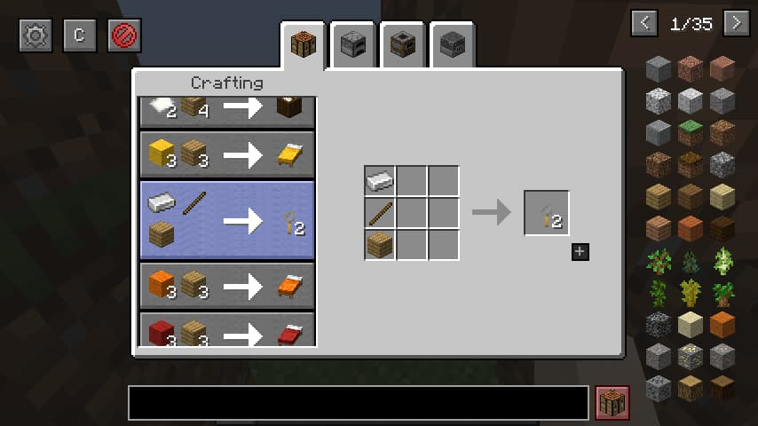 Roughly Enough Items REI mod minecraft craft