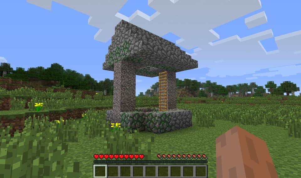 Mod Minecraft Ruins : Puit