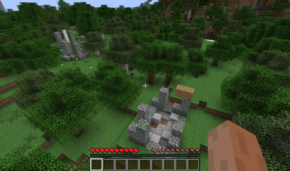 Mod Minecraft Ruins : Ruines anciennes