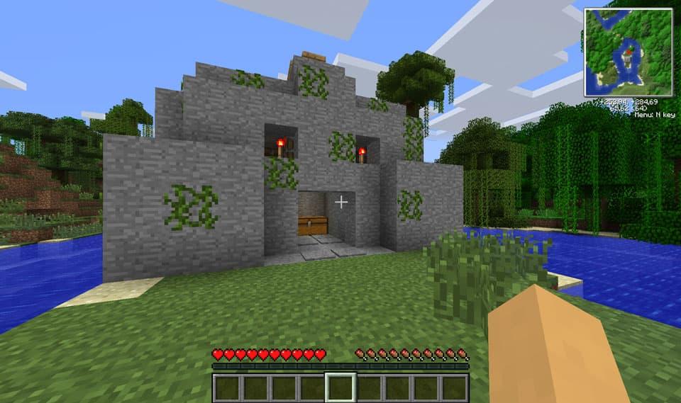 Mod Minecraft Ruins : Des ruines