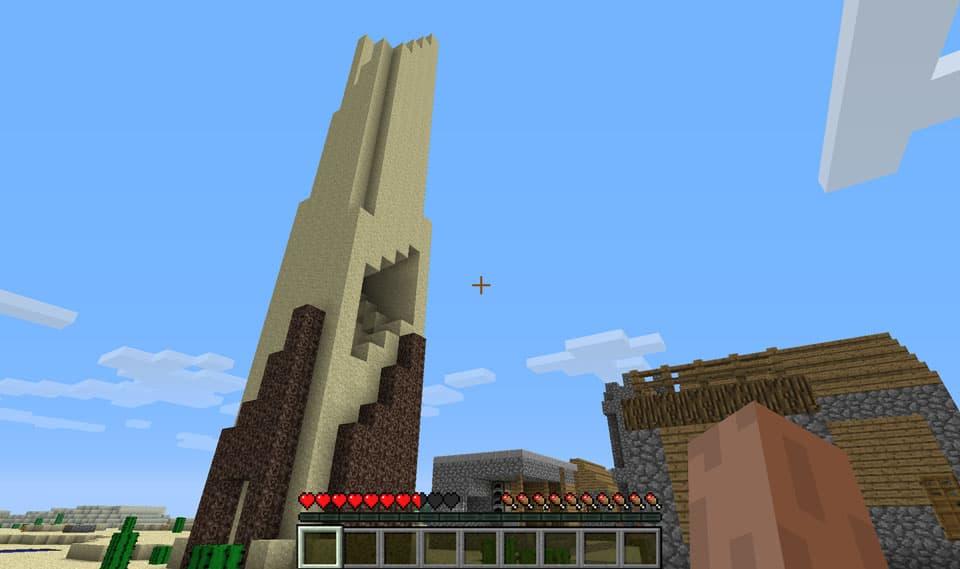 Mod Minecraft Ruins : Tour de sable