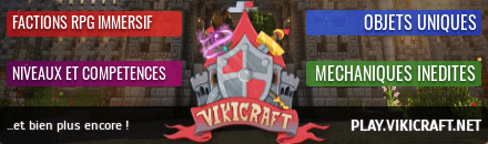 top serveur minecraft pvp faction vikicraft
