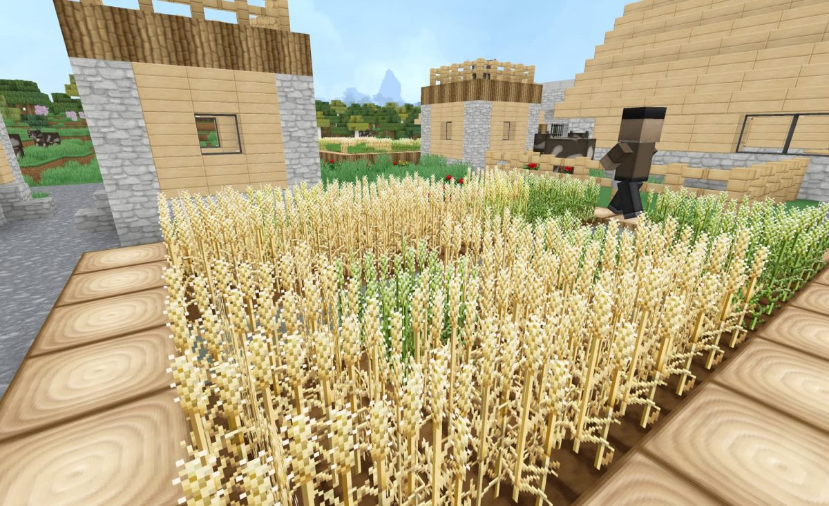 soartex invictus pack texture minecraft champs de blé