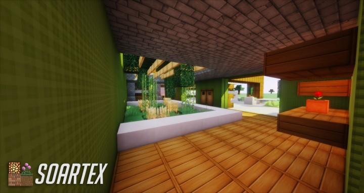soartex fanver pack texture minecraft intérieur