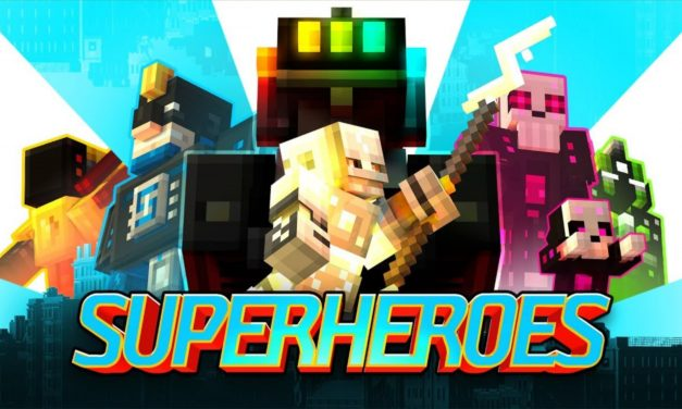 [Map] Superheroes [Bedrock]