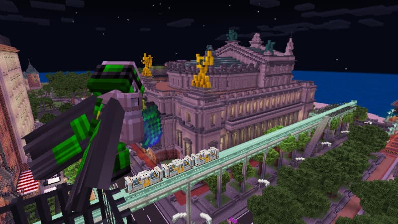 Superheroes Map Minecraft Bedrock : Chateau