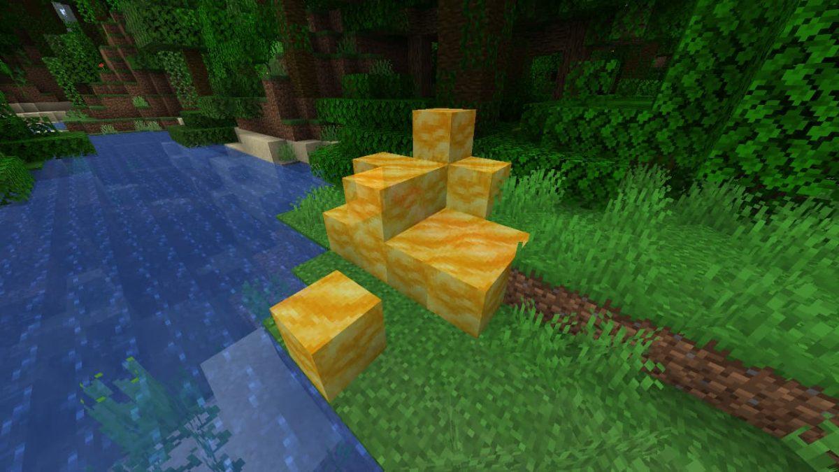 Des blocs de miel