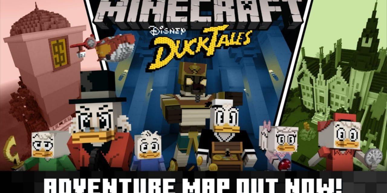 [Map] Duck Tales – La Bande à Picsou [Bedrock]