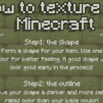 Comment faire des textures comme celles de Minecraft ?