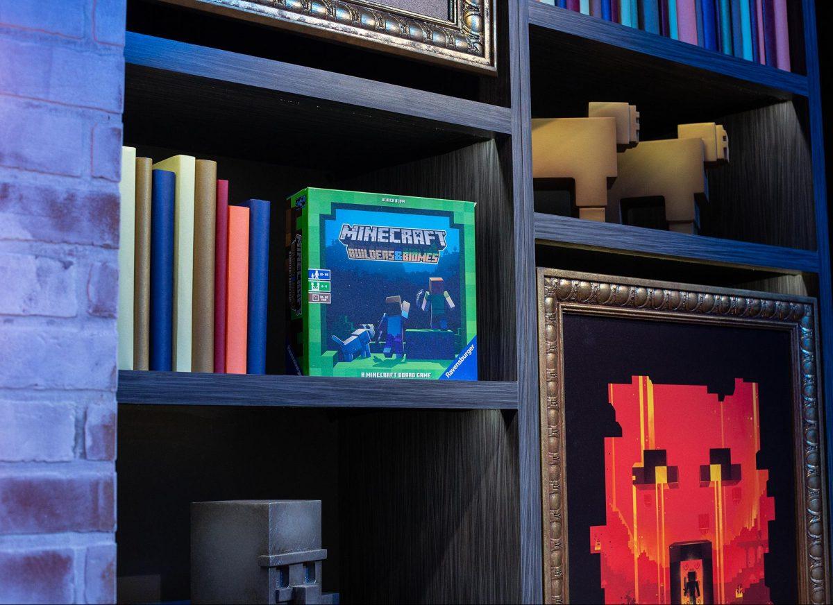 """Le jeu de société Minecraft """"Builders & Biomes"""" quand il a été annoncé"""