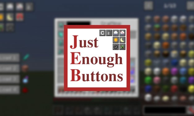 [Mod] Just Enough Buttons – 1.10.2 → 1.14.4