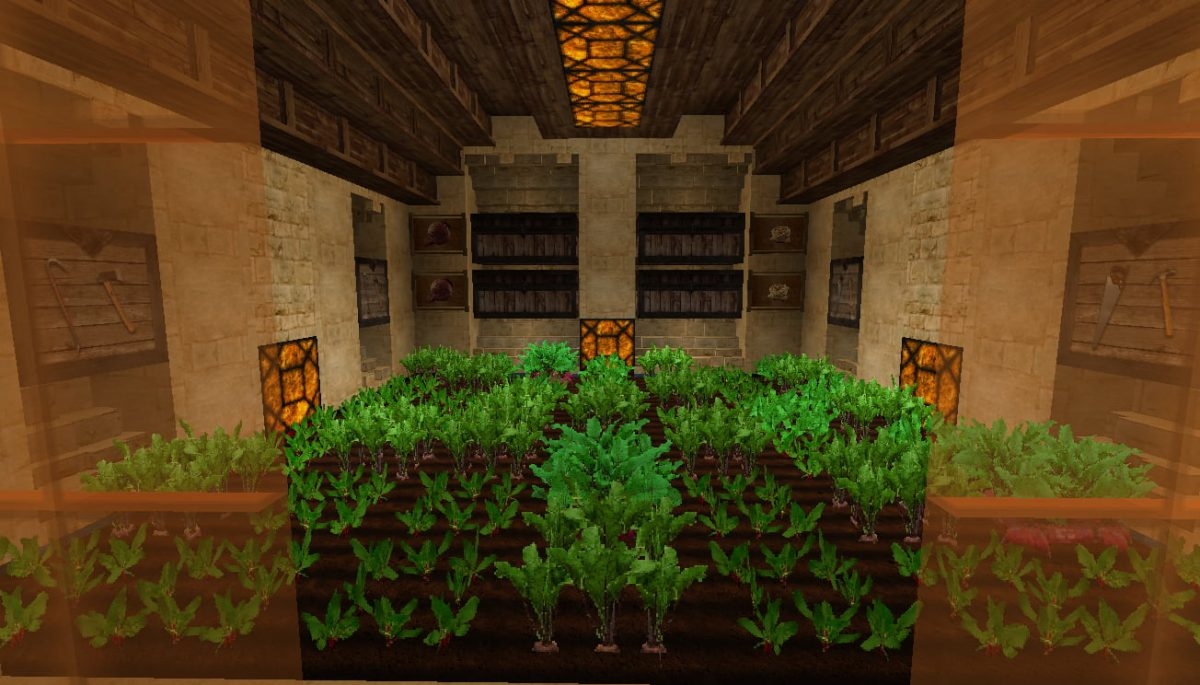 LB Photo Realism Resource Pack Minecraft carotte