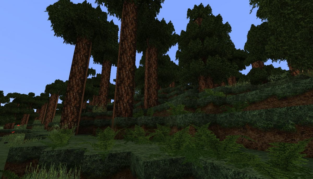 LB Photo Realism Resource Pack Minecraft taiga