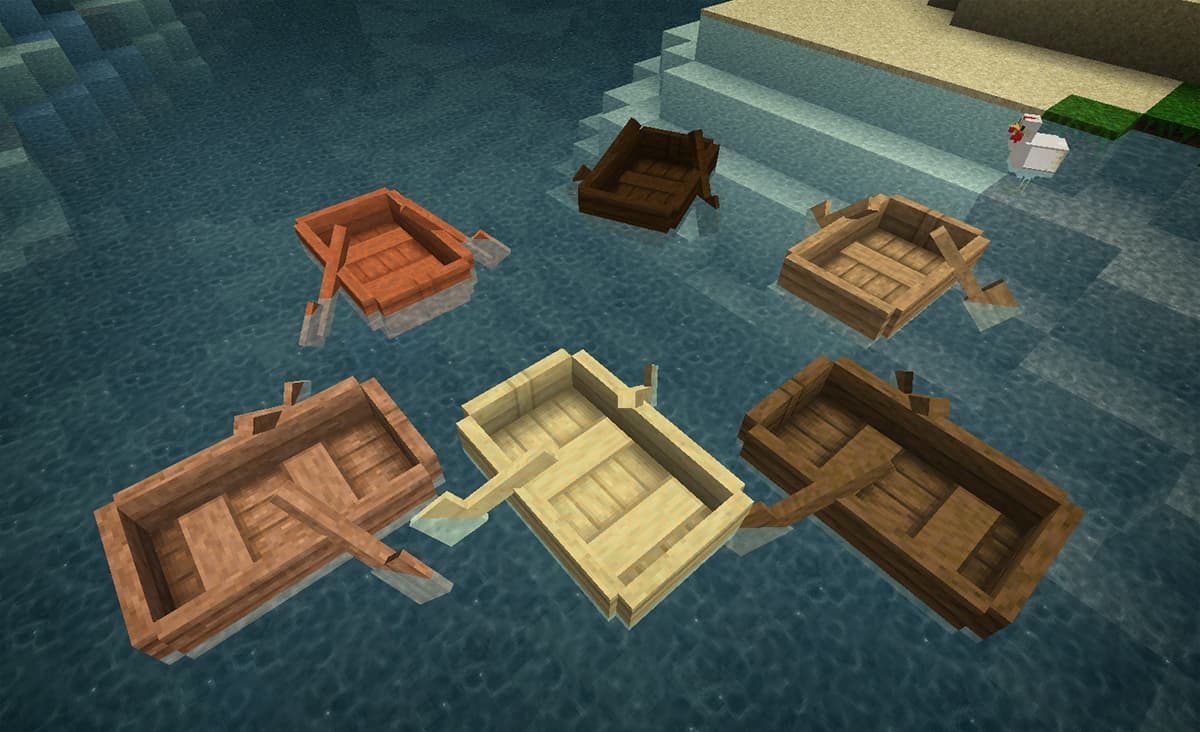 lithos core pack de textures minecraft bateau