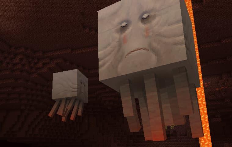 lithos core pack de textures minecraft ghast