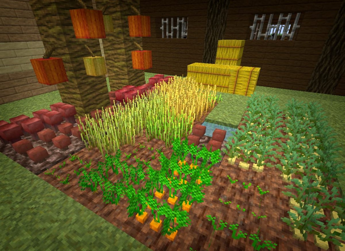 lithos core pack de textures minecraft plantation graine