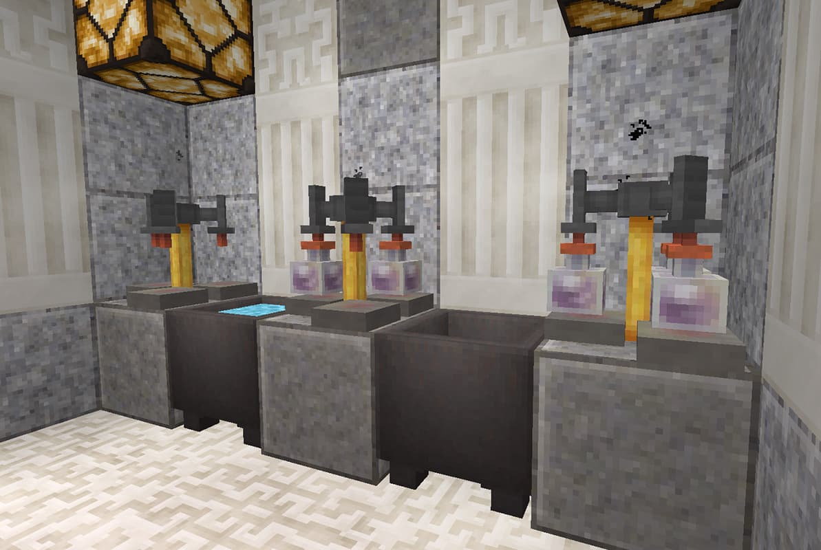 lithos core pack de textures minecraft potion stand