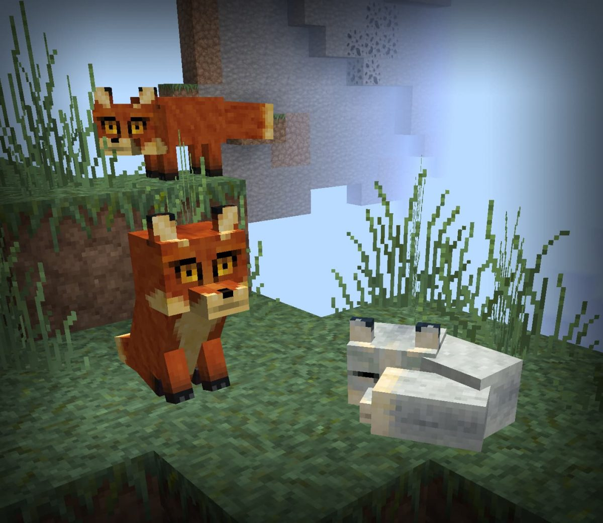 lithos core pack de textures minecraft renards
