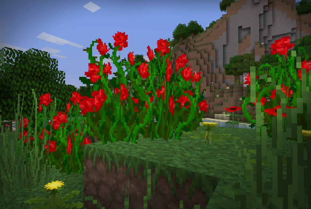 lithos core pack de textures minecraft roses