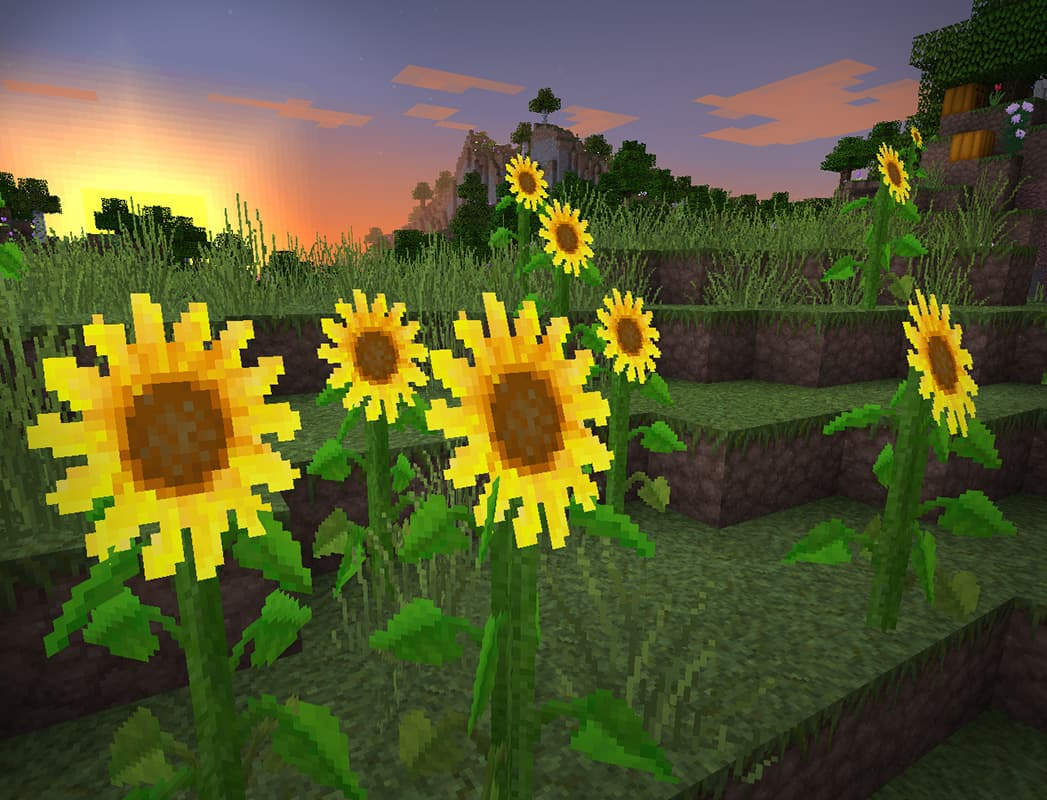 lithos core pack de textures minecraft tournesol
