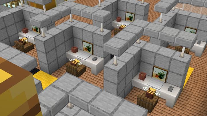 Map Usine à Abeilles Minecraft : Chaîne d'embouteillage