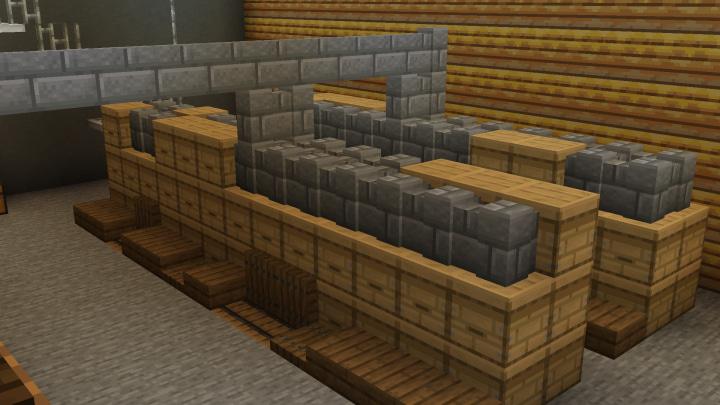 Map Usine à Abeilles Minecraft : Stock