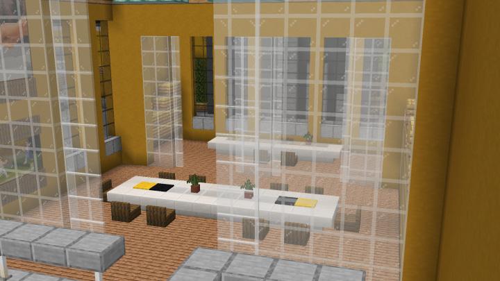 Map Usine à Abeilles Minecraft : Salle de réunion