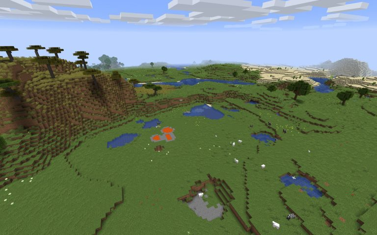 Meilleur Seed Minecraft 1.14 : Ferme animaux