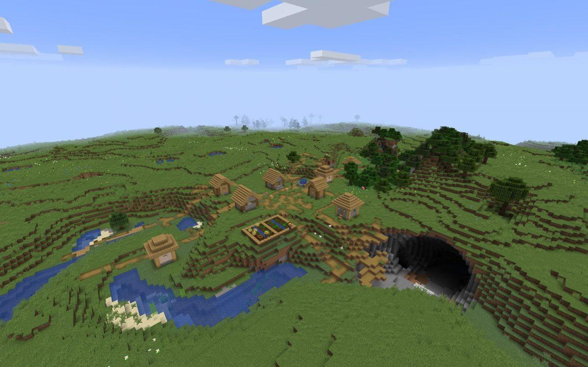 Meilleur Seed Minecraft 1.14 : Impact de météorite