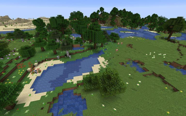 Meilleur Seed Minecraft 1.14 : Village jungle pyramide foret plaine