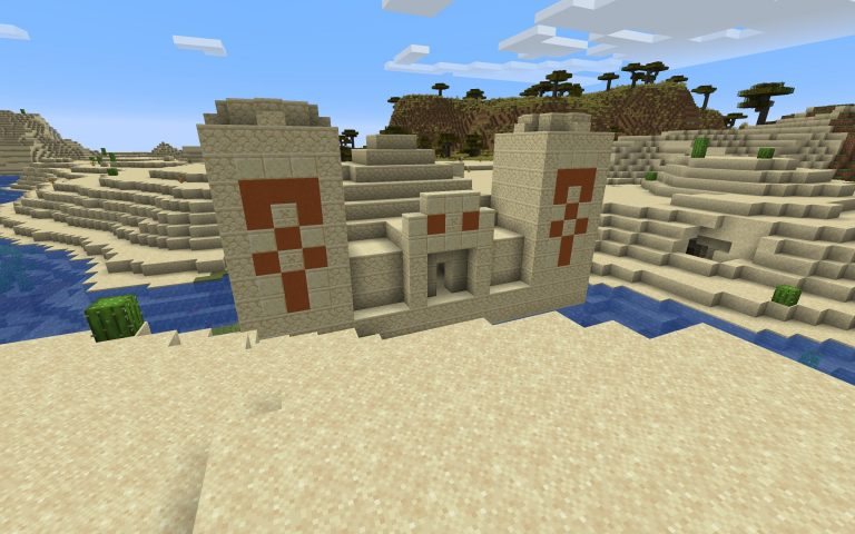 Meilleur Seed Minecraft 1.14 : Village jungle pyramide foret temple