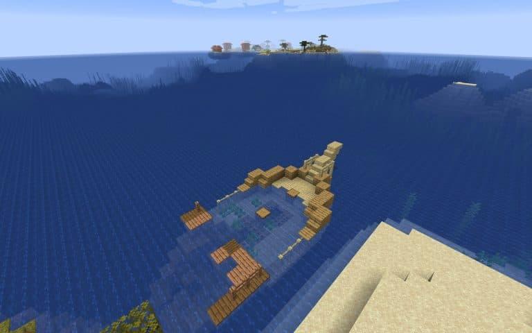 Meilleur Seed Minecraft 1.14 : Loot village ile épave
