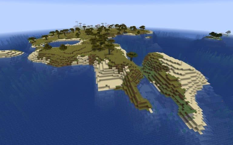 Meilleur Seed Minecraft 1.14 : Loot village ile
